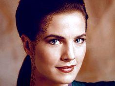Jadzia Dax - Star Trek: DS9, ok I thought she was hot. Not my favorite Star trek series.. I miss star trek.