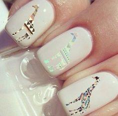Cute giraffe nail decals