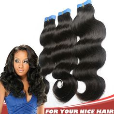 Chic Brazilian Body Wavy Natural Black 6A Weaving/Weft Hair Extensions http://www.ishowigs.com/chic-brazilian-body-wavy-natural-black-6a-weaving-weft-hair-extensions-heww58692305.html