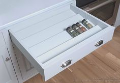 Traditional Blue Kitchen Cabinets #18 (Crown-Point.com, Kitchen-Design-Ideas.org)