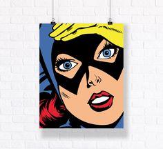 Batwoman Customizable Vector Illustration. Premium Quality