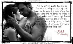 """My Favorite Quote from this book... """"We're not broken, baby..."""" Fueled by K. Bromberg (Book #2 of The Driven Trilogy)"""