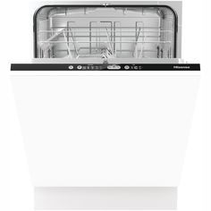 Hisense Fully Integrated Standard Dishwasher - Black Control Panel - A++ Rated - - 1 Disposal Services, Black Dishwasher, Fully Integrated Dishwasher, Energy Consumption, Cupboard Doors, Childproofing, Water Supply, Control Panel