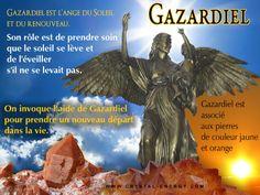 Gazardiel est l'ange du renouveau associe aux pierres de couleur orange