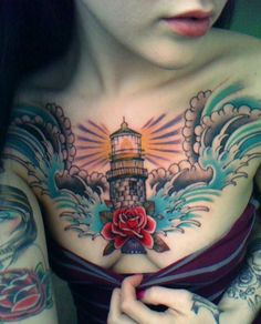 guiding light chest piece