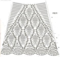 modele crochet jupe                                                                                                                                                      Plus