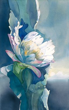 Out of the Blue | Jeanne Bonine Watercolor Artist