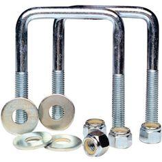 Tie Down Engineering Tie Plate, Silver