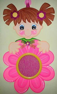 Kids Crafts, Foam Crafts, Preschool Activities, Diy And Crafts, Paper Crafts, Board Decoration, School Decorations, Diy Ribbon, Decorate Notebook