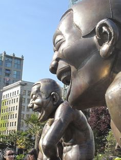 Laughing Men, Vancouver BC