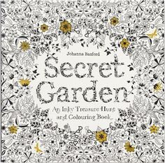 Tumble down the rabbit hole and find yourself in an inky black-and-white wonderland. This interactive activity book takes you on a ramble through a secret garden created in beautifully detailed pen-and-ink illustrations-all waiting to be brought to life through coloring, but each also sheltering all kinds of tiny creatures just waiting to be found. And there are also bits of the garden that still need to be completed by you. Appealing to all ages