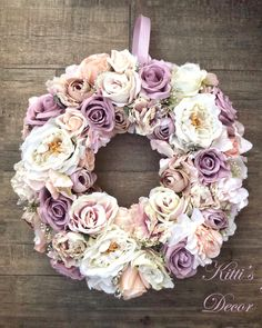 Fall Wedding Cakes, Wedding Cake Decorations, White Wedding Cakes, Fake Flower Arrangements, Fake Flowers, White Flowers, Hobbies And Crafts, Diy And Crafts, Wedding Wreaths