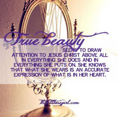 The heart of the issue #modesty Must Read.