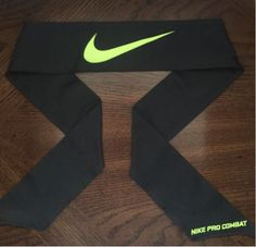 1 (ONE) Anthracite/Volt New Nike Dri-Fit Head Tie - Dri-Fit / Moisture Wicking - Unisex - 40 Inches / 2.5 Inches - Microfiber Polyester / Spandex Click the smaller sub photos to enlarge them. If you would like to purchase a quantity larger than currently available, please email us at... Volleyball Mom Quotes, Volleyball Mom Shirts, Nike Tie Headbands, Sports Headbands, Athletic Outfits, Athletic Wear, Nike Stuff, Mom Hats, Hair Essentials