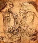 Russian fairy-tales are full of powerful, dangerous women - here Vassilisa meets Baba Yaga