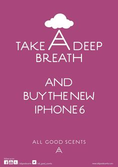 #TakeADeepBreath #News  Are you excited for the launch of the iPhone 6? We are!! iPhone 6 is the biggest smartphone hit of 2014.