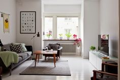 my scandinavian home: A Malmö apartment with a mid-century touch