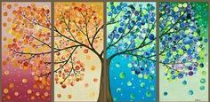 Trípticos árboles