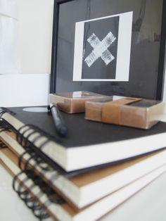 Työhuoneen näpräilyjä kotona löytyneistä ylijäämämateriaaleista