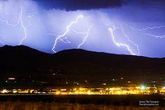 Lightning Striking Over IBM Boulder CO 3 by Striking Photography by Bo Insogna, via Flickr