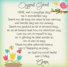 Afrikaanse Quotes, Goeie Nag, Goeie More, Inspirational Qoutes, Morning Prayers, Prayer Board, Special Quotes, Good Morning Good Night, Positive Thoughts