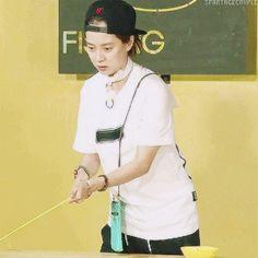 Song Ji Hyo, Running Man ep. 315. © on gif