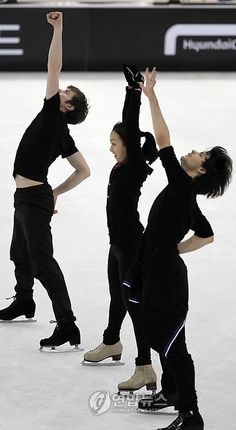 Jeffrey Buttle , Mao Asada , Stephane Lambiel