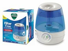 The Nurse Mommy- Vicks Starry Night Humidifier Giveaway