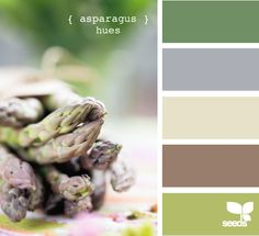 While your child may not like asparagus you may be able to find some masculine paint color inspiration in these related hues.
