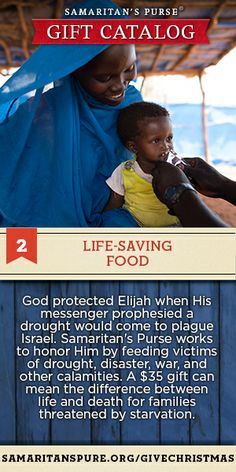 $35 can mean the difference between life and death for families threatened by starvation. Click to give.