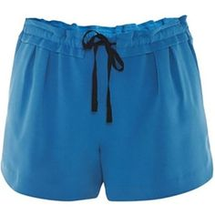 drawstring shorts - Blue Chloé LT8sAaeD