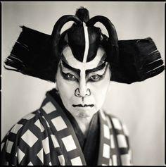 Susumu Takagi as Matsuomaru, Nakatsugawa Kabuki : photography by Hiroshi Watanabe, Japan
