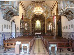 A igreja conventual faz parte do Conjunto Santuário e Convento de Santo Antônio. Largo da Carioca - Centro - Rio de Janeiro