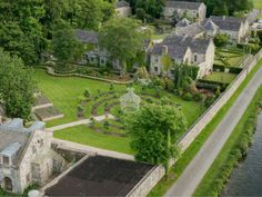 An entire village is for sale in County Kildare! The 16-acre property includes a cafe, cookery school, restaurant, bars, and a function room, as well as nine houses, four apartments and 14 hotel suites. Several of the residences are currently being rented.