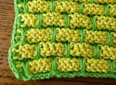 je m'éclate avec mes 10 doigts: Et si j'utilisais des lavettes ? Krispie Treats, Rice Krispies, Desserts, Genre, Food, Vogue, Couture, Knit Dishcloth Patterns, Knit Dishcloth