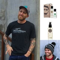Gifts under $25 for your man. Beard and grooming products.