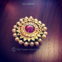 Gulaboo - Pal D'zigns - High End Jewelry - 114801 India Jewelry, Temple Jewellery, Ethnic Jewelry, Indian Jewellery Design, Jewelry Design, Stone Jewelry, Wedding Jewelry, Jewelry Collection, Jewelery
