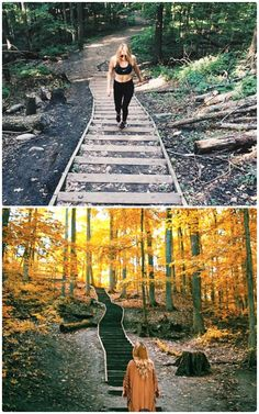 You Can Climb This Serene Trail With 99 Steps Through A Breathtaking Forest Near Toronto Ontario Travel, Toronto Travel, Visit Toronto, Vacation Trips, Day Trips, Cool Places To Visit, Places To Travel, 99 Steps, Canadian Travel