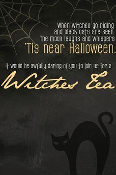 Witches Tea Invite - EDIT