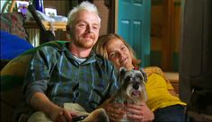 Spaced TV Show. Tim (Simon Pegg), Daisy (Jessica Stevenson) & Colin.
