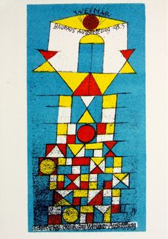 Paul Klee postcard1923