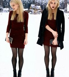 Cute for a winter night out