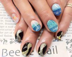 Nail Art - Beetle Nail : 八幡|メンズネイルが  #ネイル #ビートル近江八幡 #ビートルネイル #ネイル近江八幡