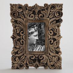 Brielle Carved Frame | World Market
