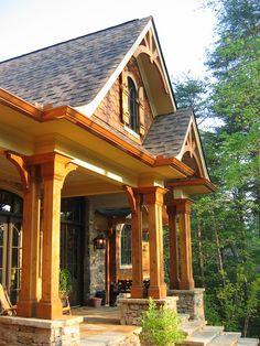 Rustic Front Porch Ideas | ... James H. Klippel Residential Designs, LLC. Copyright © 2012-Present