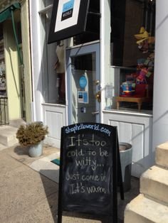 Funny chalkboard sign - cutting to the chase on the sign today craft show о D House, Shop House Plans, Shop Plans, Shop Window Displays, Store Displays, Visual Merchandising, Chandeliers, Window Signage, Retail Signage