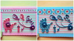 It's a boy/It's a girl quilling by TreasuresOfTheEast on Etsy