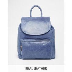 Urbancode Leather Backpack