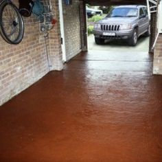resina epossidica_Garacoat Garage Floor Paint Brick Red