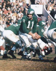 Norm Van Brocklin Los Angeles Rams 1949-57 and Philadelphia Eagles 1958-60. HOF Class '71.
